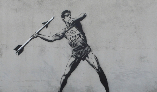 Banksy - Missile thrower